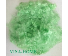 15D Hollow Polyester Staple Fiber Green