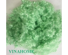 6D Hollow Conjugate Polyester Staple Fiber Green