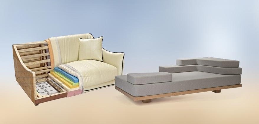 Mousse tấm sử dụng làm ghế sofa