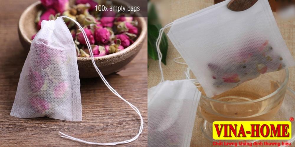 Vải sợi không dệt sử dụng làm túi lọc trà, cà phê...